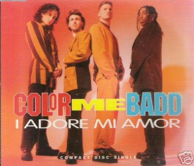 COLOR ME BADD I ADORE MI AMOR RARE US REMIXES CD SEALED