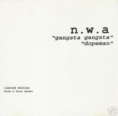 .W.A. NWA GANGSTA GANGSTA DOPEMAN REMIXES CD SEALED