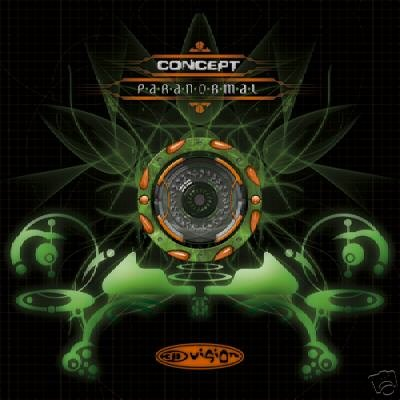 CONCEPT PARANORMAL SUPERB COLLECTORS PSY-TRANCE CD