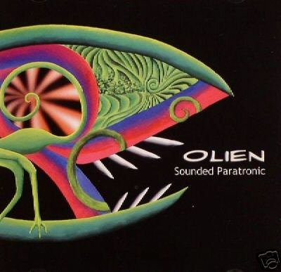OLIEN SOUNDED PARATRONIC SUPERB DUTCH PSY-TRANCE CD