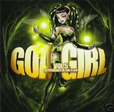 GOA GIRL 5 DIGICULT PENTA BIO GENESIS SPACE BUDDHA CD