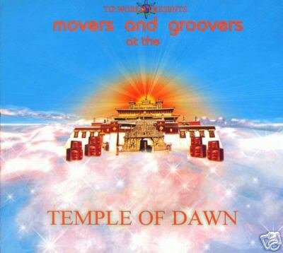 MOVERS & GROOVERS AT THE TEMPLE OF DAWN TIP.WORLD CD