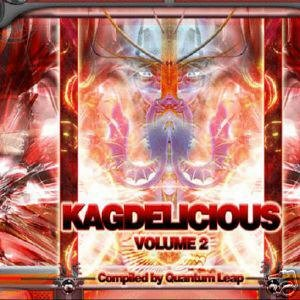 KAGDELICIOUS 2 TWO QUANTUM LEAP ASTRAL WAVES OOP CD SET