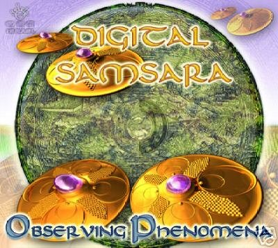 DIGITAL SAMSARA OBSERVING PHENOMENA RARE GOA TRANCE CD