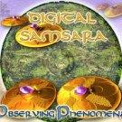 DIGITAL SAMSARA OBSERVING PHENOMENA RARE GOA TRANCE CD