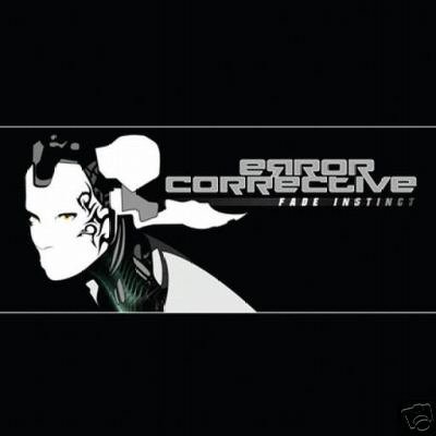 ERROR CORRECTIVE FADE INSTINCT SUPERB PSY-TRANCE CD