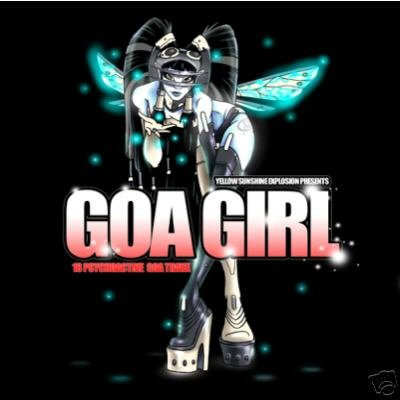 GOA GIRL DEVIANT SPECIES MEGALOPSY OCELOT ZORBA RARE CD