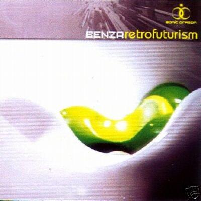 BENZA RETROFUTURISM RARE HONG KONG PSY-TRANCE CD IMPORT