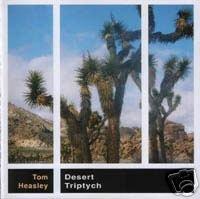 TOM HEASLEY DESERT TRIPTYCH AMBIENT OOP COLLECTORS CD