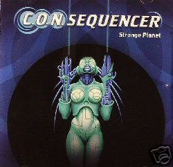 CON C.O.N. SEQUENCER STRANGE PLANET JAPAN TRANCE OOP CD