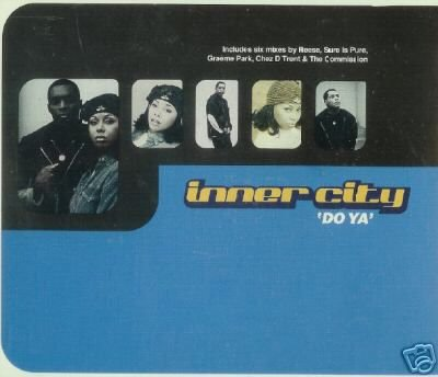 INNER CITY DO YA 6 TRACK REMIXES COLLECTORS CD NEW