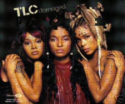 TLC DAMAGED HANDS UP LIMITED EDITION CARD SLEEVE NEW