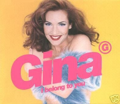GINA I BELONG TO YOU CD RARE 6 TRACK WARNER REMIXES NEW