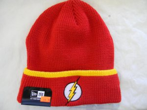 Beanie - The Flash Logo - Red, yellow and black