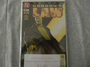 Batman: Gordon's Law (1996 series, complete)
