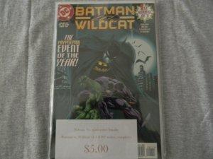 Batman vs. Wildcat #1-3 (1997 series, complete)