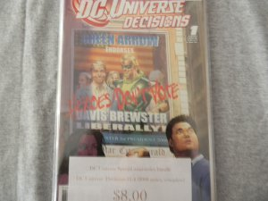 DC Universe: Decisions #1-4 (2008 series, complete)