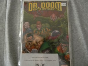 Dr. Doom and the Masters of Evil #1-4 (Complete, 2009)