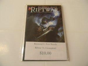 Raymond E. Feist Bundle, Riftwar #1-5 complete