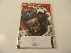 Marvel Wolverine Bundle, Wolverine: Soultaker #1-5 (complete, 2005 series)