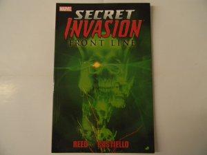 Secret Invasion: Front Line, Reed, Castiello *Special Price*