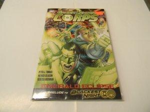 Green Lantern Corps Emerald Eclipse Prelude to Blackest Night