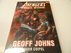 """The Avengers: Earth's Mightiest Heroes """"Red Zone"""" Geoff Johns, Olivier Coipel"""