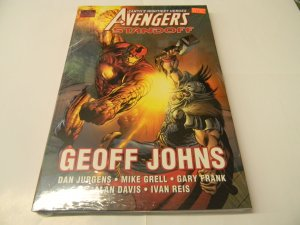 """The Avengers: Earth's Mightiest Heroes """"Standoff"""" Geoff Johns"""