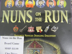 Nuns on the Run - Naughty Novices Dodging Discovery