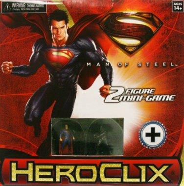 DC HEROCLIX MAN OF STEEL MINI GAME