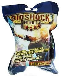 BIOSHOCK INFINITE HEROCLIX SEALED GRAVITY FEED PACTS