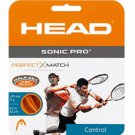 Head Sonic Pro new half set 17g color orange