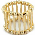 Gold Fashion Punk Bangle Charmly Bangles