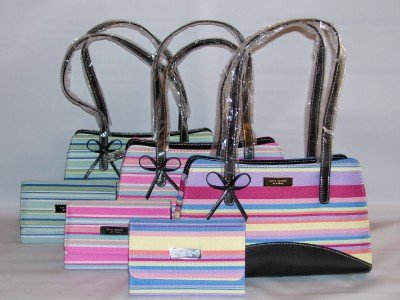 BOW HANDBAG WITH MATCHING WALLET