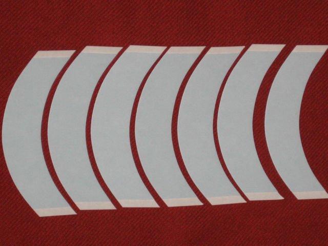 WALKER CC CONTOUR LACE FRONT SUPPORT TAPE( BLUE LINER ) 36 PCS ~Lace Wigs Toupee