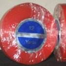 "RED- E LINE 1/2""X12 YARD ROLL TAPE ~ WIG TOUPEE HAIRS."