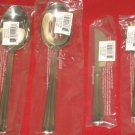 REED & BARTON SINCE1824,18/8 STAINLESS BELLEVUE4PC HOSTESS SET MADE IN KOREA NIB