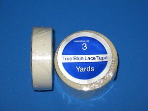 """SUPERTAPE TRUE BLUE LACE TAPE 1/2"""" X 3 YD ROLL~WEFT HAIR EXTENSIONS."""