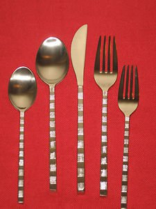 Pfaltzgraff 18/10 Stainless Satin Chopstick 5Pc Place Set  ( Discontinued ),NIB.