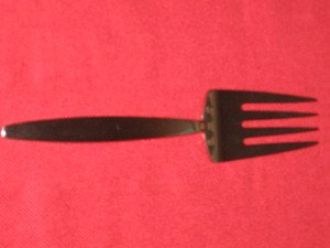 Wallace THEMA 18/8 Stainless Steel Cold Meat Fork New.