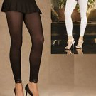 ELEGANT MOMENTS SEXY LEGGINGS WITH LACE TRIM ONE SIZE FITS MOST STYLE:1517 NWT.