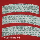 "VAPON TOPSTICK® Mens Custom Cut""A""Curve Tape,Clear,Double-sided,50 Strips ~Wigs."