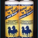 The Original Mane'n Tail,Body Shampoo & Moisturizer-Texturizer Conditioner 12.oz