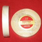 """SuperTape Low Profile 1/2""""x 12YDS Roll Tape Non Glare~Lace Wigs Hair Extensions."""