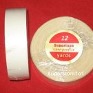 "SuperTape Low Profile 3/4""x 12YDS Roll Tape Non Glare~Lace Wigs Hair Extensions."