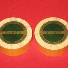 "Walker 3/4""X 3 Yards(108"") Brown liner Cloth Tape(2-Roll)~Hair Piece,Wigs Toupee"