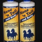 The Original Mane'n Tail,Body Shampoo 12.oz ( 2- Bottle )