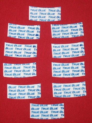 """Supertape True-Blue Lace Tape 1.5"""" Wide""""Mini-C""""Contours( 3/4"""") ~72 PCs for Wigs."""