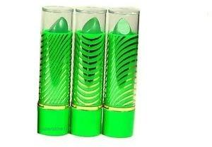 Princessa Magic Aloe Vera Mood Lipstick Green Color ~3 Piece Set.