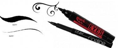 L.A Girl U.S.A Mark My Eyes & Fineline Bold BLACK Liquid Eyeliner Pen Pick Any.